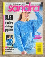 Magazine tricot Sandra 80 - Mars 1991