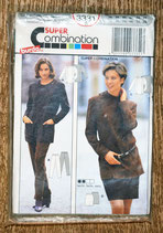Patron couture Burda 3331 - Ensemble tunique - jupe - pantalon