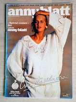 Magazine Tricot Anny Blatt 62 - Spécial couture