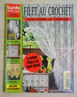 Magazine Burda spécial E555 - Filet au crochet