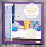 NEUF - Livre Coussins, rideaux & co - 26 modèles de couture