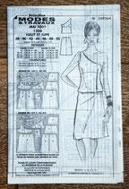 Patron de couture Modes & Travaux 1206 - Ensemble haut et jupe pour femme