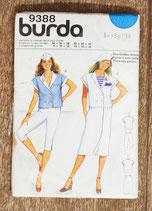 Patron couture Burda 9388 - Ensemble femme