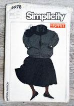 Pochette patron couture Simplicity 6978 - Ensemble fille taille S