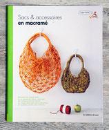 NEUF - Livre sacs et accessoires en macramé