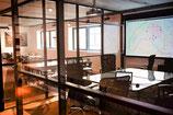 Salle de réunion à l'heure
