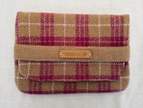 Clutch aus Harris Tweed (Pink Latte)