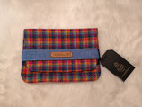 Clutch aus Harris Tweed (Rainbow)