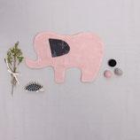 Bio-Musselin Schmusetuch Elefant