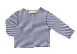Jacke Wilma (blue stripe) Einzelstück (Gr. 6-12 Monate)
