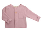 Cardigan Victor (powder pink) in Gr. 6-12M