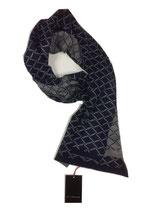 Schal blau-grau