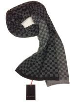 Schal schwarz-grau