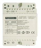 4802 ALIMENTADOR DIN4 230VAC/12VAC-1A