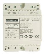 4800 ALIMENTADOR DIN4 230VAC/12VAC-1,5A
