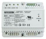 4813 Alimentador DIN6 100-240VAC 12VDC/2A