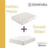 Sonpura MAXIM con Canapé GLOBAL