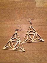 Ohrringe Luftige Dreiecke