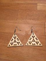 Ohrringe Dreiecke im Dreieck