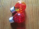 Leuchtmittel E27, verschiedene Farben
