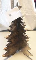 Weihnachtsbaum Holz / Metall