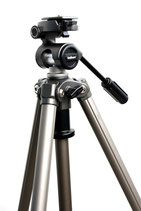 Tripod with 2-way pan (demo item will not be shipped)