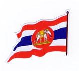 【ミリタリー / 軍隊 グッズ 】タイ王国 海軍 ステッカー(ROYAL THAI NAVY Sticker ) S サイズ  type B (Right) 1枚 【タイ雑貨 Thailand Sticker】