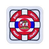 ミリタリーグッズ  タイ王国 海軍 ボート ステッカー(ROYAL THAI NAVY Sticker A2) S サイズ -タイ雑貨 アジアン雑貨-