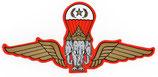 【ミリタリー / 軍隊 グッズ 】 タイ 王国 軍旗 エンブレム (紋章) ステッカー Sサイズ (スタンダード タイプ)1枚【タイ雑貨 Thailand Sticker】