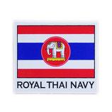 ミリタリーグッズ  タイ王国 海軍 ステッカー(ROYAL THAI NAVY Sticker A1) S サイズ -タイ雑貨 アジアン雑貨-