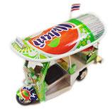 【ハンドメイド】 ミニチュア トゥクトゥク (TUKTUK)模型 / ファンタ オレンジ 缶 Fanta Orange type 【タイ雑貨 アジアン インテリア アイテム Thailand Item】