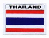 タイ王国 国旗 ステッカー(THAILAND National Flag Sticker ) S サイズ type D 1枚 【タイ雑貨 Thailand Sticker】