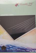 Encaustic karton gekleurd A4  Zwart