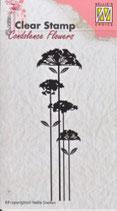 CSCF002   Clearstamp: Condelance bloem 4 TAK