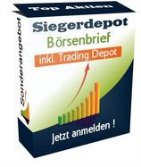 """Siegerdepot Börsenbrief """"Trading und Investordepot"""" für den aktiven Anleger"""
