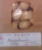 Macadamia Nüsse 150g