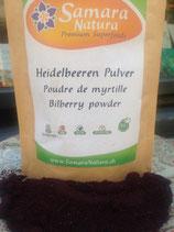 Wilde Heidelbeerenpulver 125g