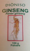 GINSENG BIO (Panax ginseng) 100g