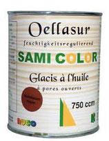 Samicolor Öllasur 750ml Farbtöne farblos,weiss,eiche hell,nussbaum,eiche rustikal,mahagoni,teak,ebenholz,kastanie,palisander usw