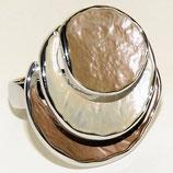 HANDGESCHILDERDE Ring - LAT001