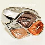 HANDGESCHILDERDE Ring - LAT042