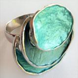 HANDGESCHILDERDE Ring - LAT085