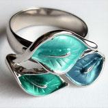 HANDGESCHILDERDE Ring - LAT084