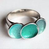 HANDGESCHILDERDE Ring - LAT082