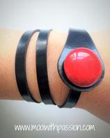 AMELIE - Zwart Rood
