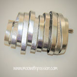 NOA - Aluminium Zilver Broche