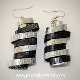 VIOLA - Zwart Zilver Aluminium