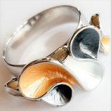 HANDGESCHILDERDE Ring - LAT141