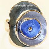 HANDGESCHILDERDE Ring - LAT014