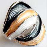 HANDGESCHILDERDE Ring - LAT149
